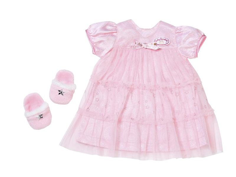 Одежда для куклы Zapf Creation Baby Annabell Спокойной ночи 700-112 zapf creation одежда для куклы zapf creation baby annabell спокойной ночи платье и тапочки