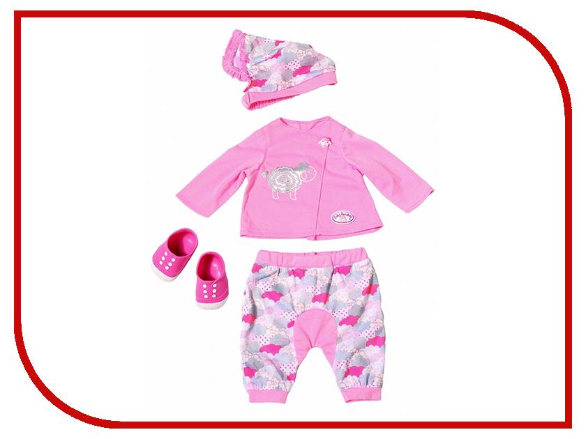 Кукла Zapf Creation Baby Annabell Одежда для уютного вечера 700-402 брендовая одежда