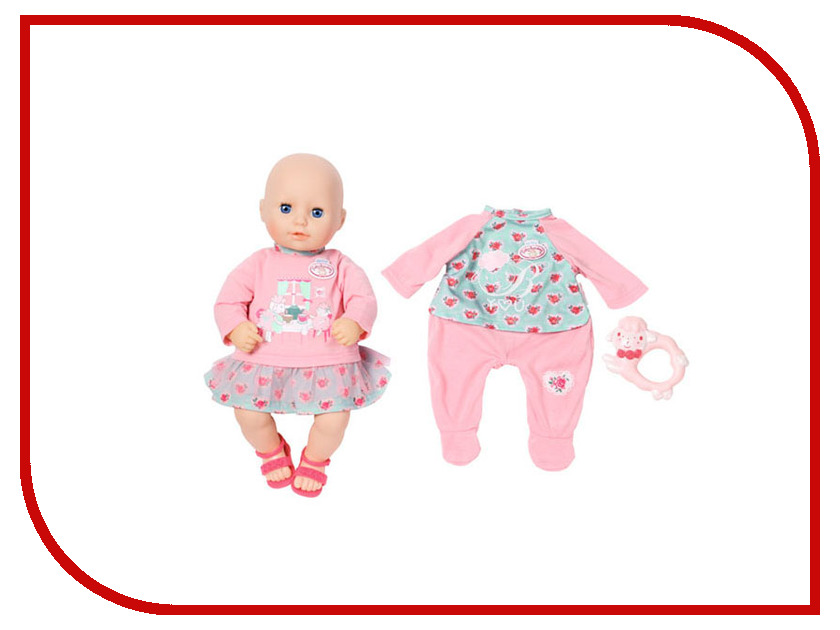Кукла Zapf Creation My First Baby Annabell 700-518 zapf creation комбинезончик baby annabell