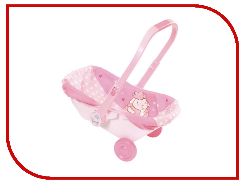 Сиденье-переноска для куклы Zapf Creation Baby Annabell 700-709 zapf creation памперсы для куклы 5 шт baby annabell