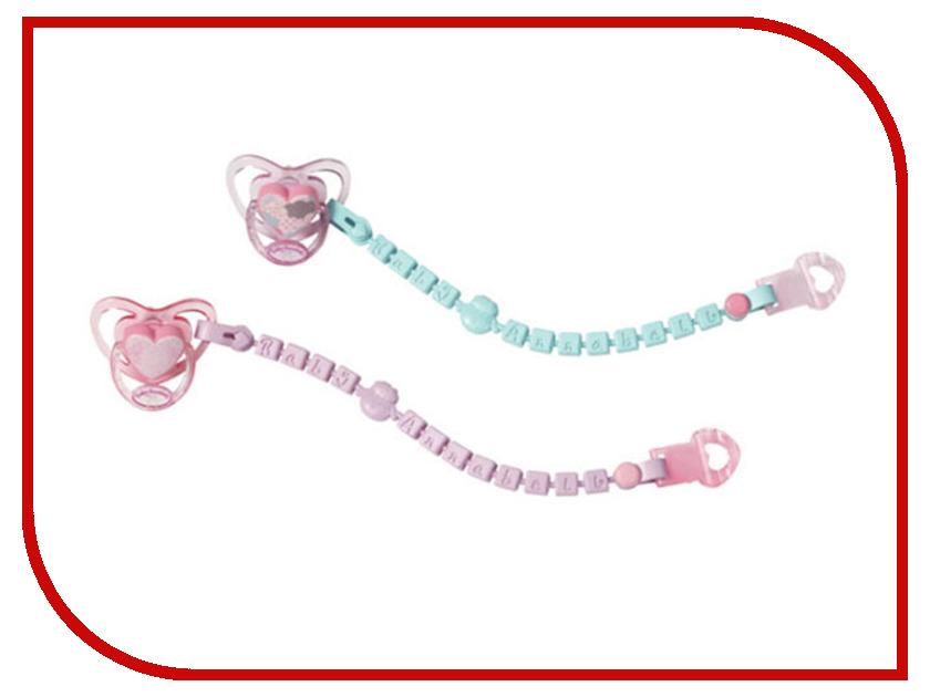 Соска  цепочкой для куклы Zapf Creation Baby Annabell 700-785