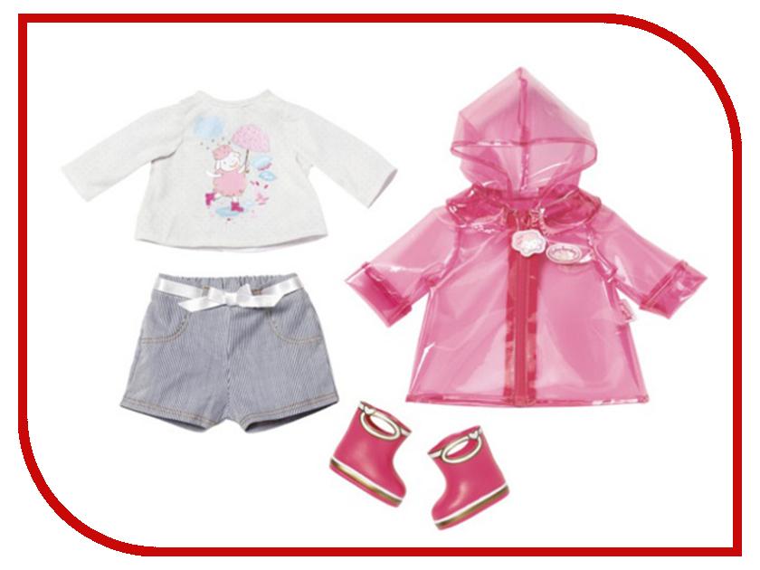 Кукла Zapf Creation Baby Annabell Одежда для дождливой погоды 700-808 аксессуары для кукол zapf игрушка baby annabell памперсы