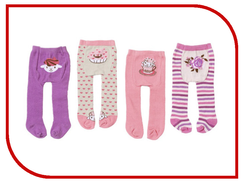 Одежда для куклы Zapf Creation Baby Annabell Колготки 700-815 zapf creation памперсы для куклы 5 шт baby annabell