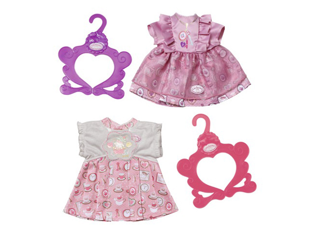 Одежда для куклы Zapf Creation Baby Annabell Платье 700-839 zapf creation одежда для куклы my first baby annabell zapf creation розового цвета 36 см