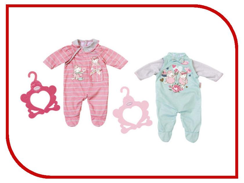 Одежда для куклы Zapf Creation Baby Annabell Комбинезончик 700-846 zapf creation мебель для куклы zapf creation baby annabell кроватка качалка