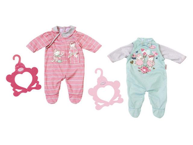 Одежда для куклы Zapf Creation Baby Annabell Комбинезончик 700-846 zapf creation одежда для куклы zapf creation baby annabell спокойной ночи платье и тапочки