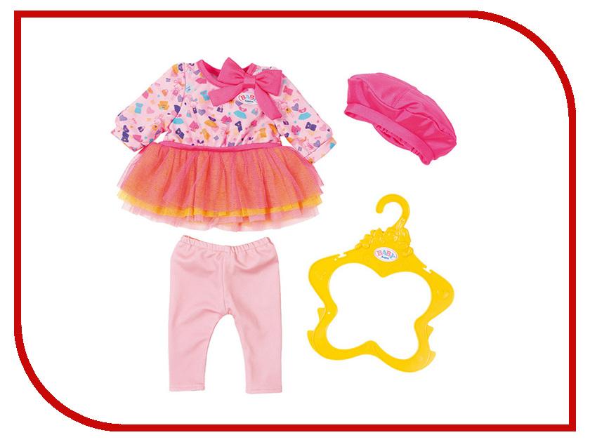 Кукла Zapf Creation Baby Born Одежда В погоне за модой 824-528 кукла zapf creation baby born сестричка русалочка 43 см 824 344