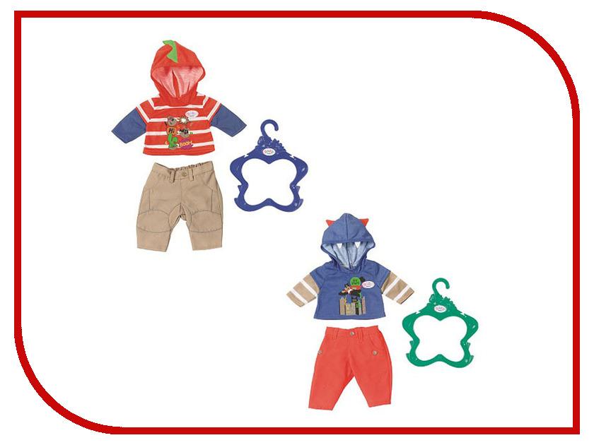 Одежда для куклы Zapf Creation Baby Born Для мальчика 824-535 zapf creation одежда стильная для мальчика синие штаны baby born