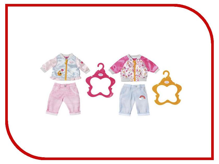 Кукла Zapf Creation Baby Born Штанишки и кофточка для прогулки 824-542 куклы и одежда для кукол zapf creation baby born детское питание 12 пакетиков