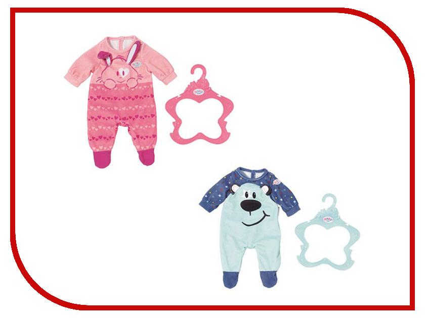 Одежда для куклы Zapf Creation Baby Born Комбинезончик 824-566 zapf creation комбинезончик baby annabell