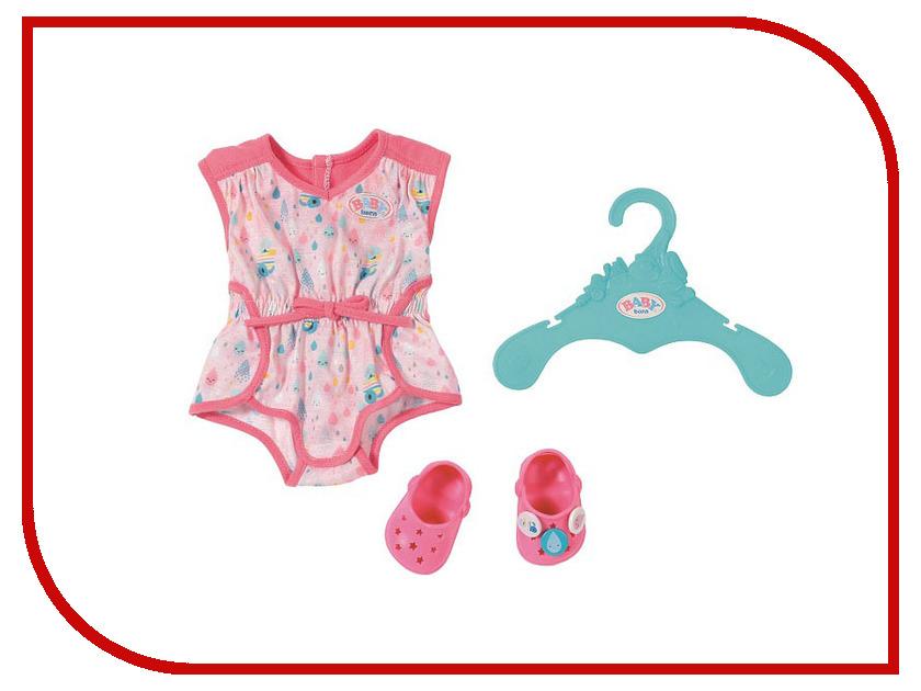 Кукла Zapf Creation Baby Born Пижамка с обувью 824-634 кукла zapf creation baby born сестричка русалочка 43 см 824 344