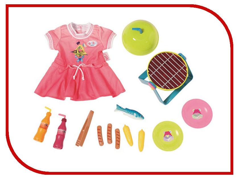 Кукла Zapf Creation Baby Born Набор для барбекю 824-733