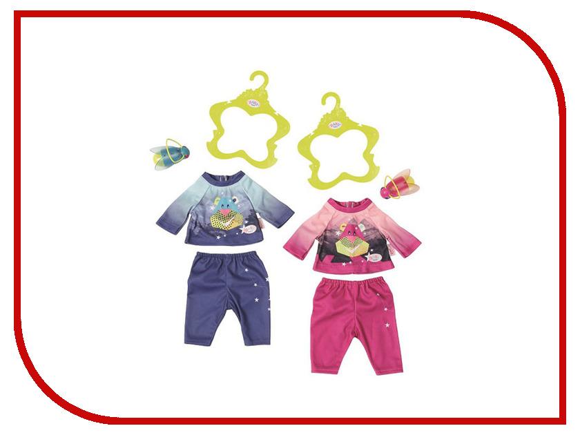 Кукла Zapf Creation Baby Born Удобный костюмчик и светлячок-ночник 824-818 куклы и одежда для кукол zapf creation baby born детское питание 12 пакетиков