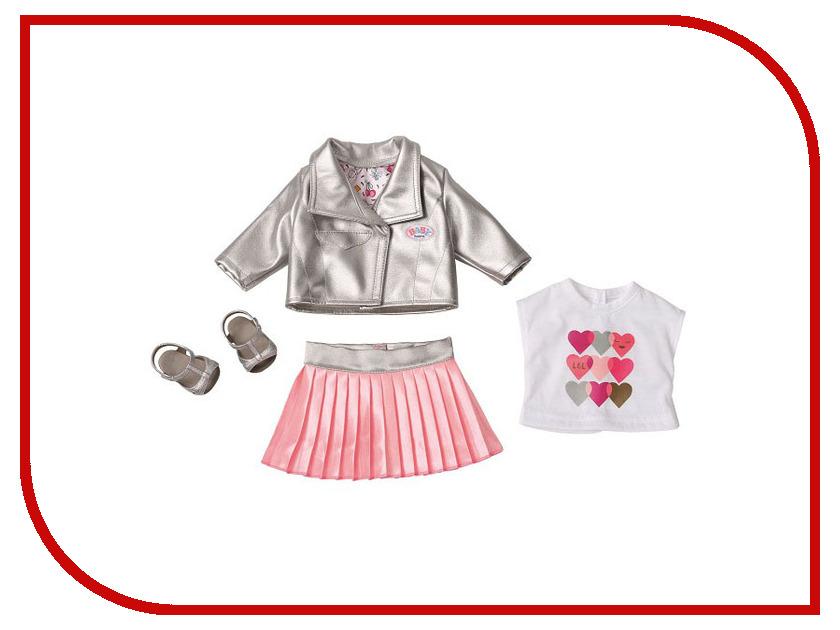 Кукла Zapf Creation Baby Born Одежда Законодательница моды 824-931 кукла zapf creation baby born сестричка русалочка 43 см 824 344
