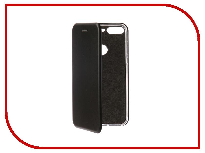 Аксессуар Чехол-книга для Huawei 7C Pro Innovation Book Silicone Black 12408 highscreen boost 3 pro black