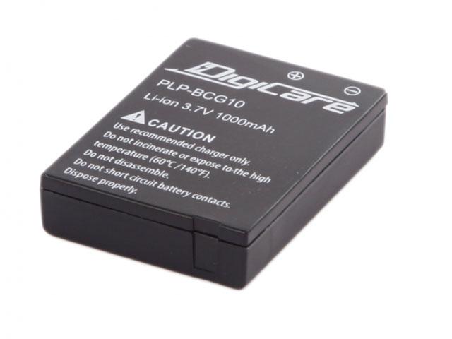 Аккумулятор DigiCare PLP-BCG10 (схожий с Panasonic DMW-BCG10) аккумулятор digicare plp blc12