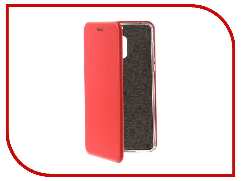 Аксессуар Чехол-книга для Nokia 6 Innovation Book Silicone Red 12417 аксессуар чехол для samsung galaxy a5 2017 innovation book silicone red 12147