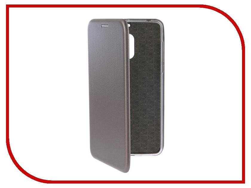 Аксессуар Чехол-книга для Nokia 6 Innovation Book Silicone Silver 12419 nokia 230 dark silver