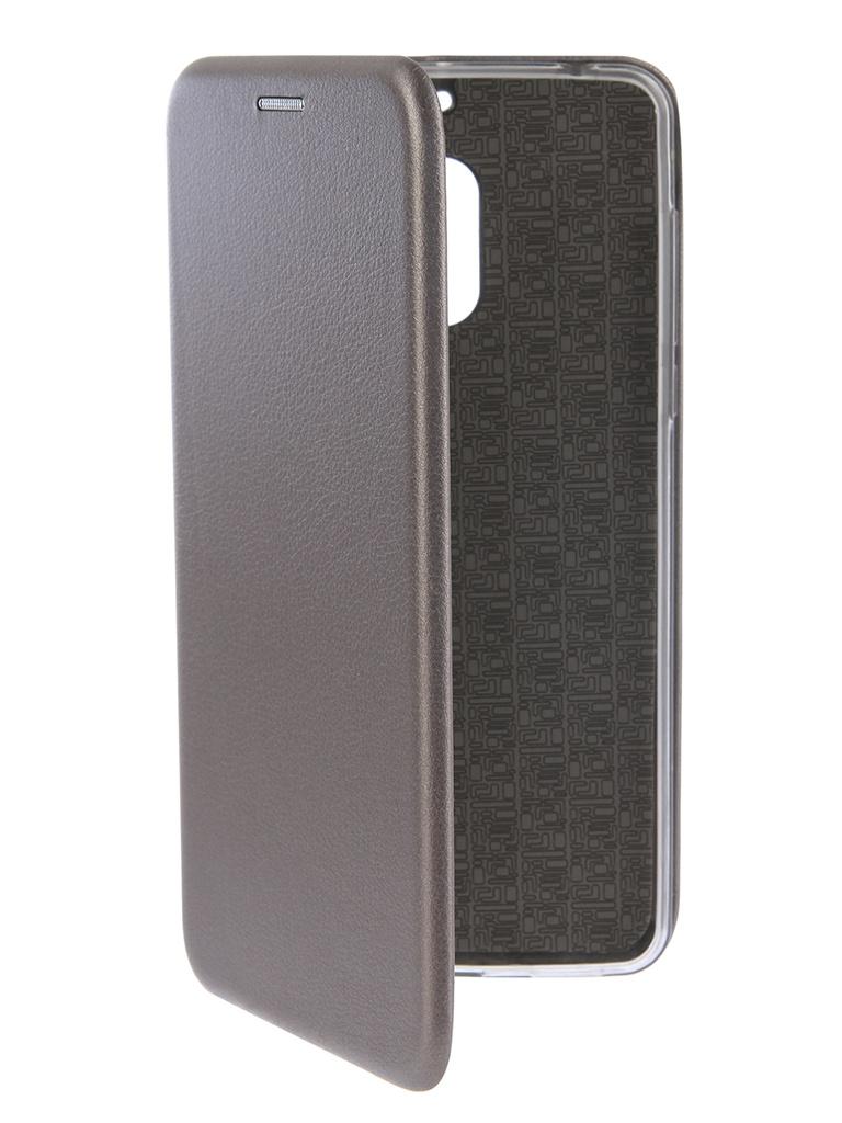 Аксессуар Чехол-книга Innovation для Nokia 6 Book Silicone Silver 12419