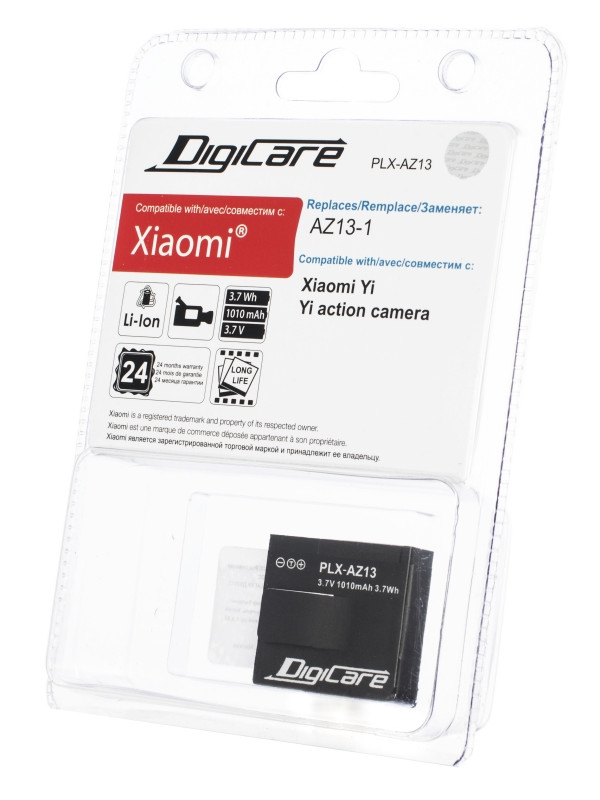 Аксессуар Аккумулятор DigiCare PLX-AZ13 для Xiaomi Yi xiaomi az13 1