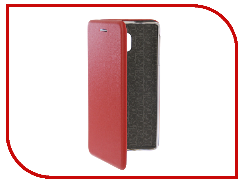 Аксессуар Чехол-книга для Nokia 3 Innovation Book Silicone Red 12422