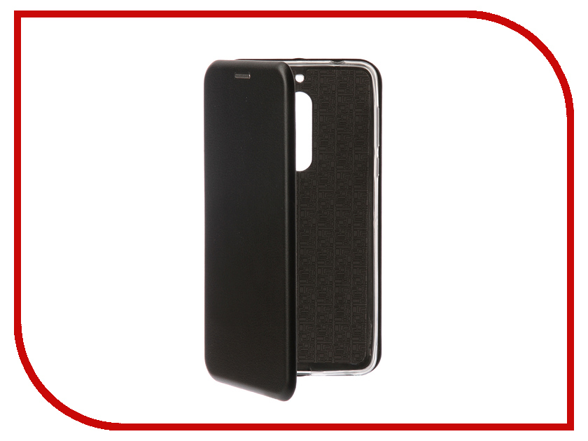 Купить Аксессуар Чехол-книга Innovation для Nokia 5 Book Silicone Black 12428