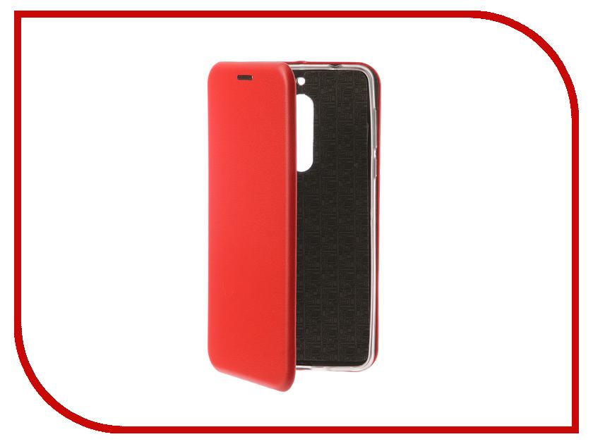 Аксессуар Чехол-книга для Nokia 5 Innovation Book Silicone Red 12427 аксессуар чехол nokia 5 aksberry white