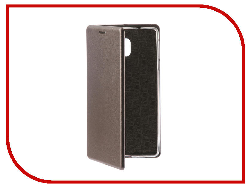 Аксессуар Чехол-книга для Nokia 3 Innovation Book Silicone Silver 12424 nokia 230 dark silver