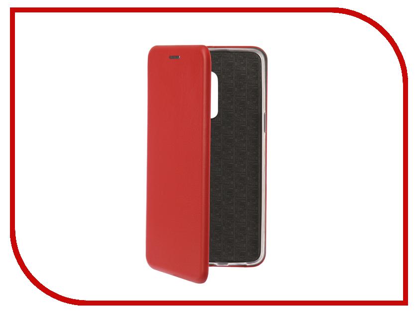 Аксессуар Чехол-книга для Meizu M15 Plus Innovation Book Silicone Red 12432 настенные часы la mer gd221 2