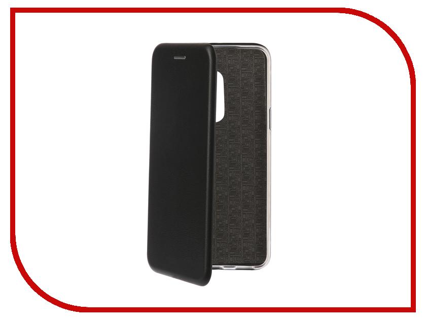 Аксессуар Чехол-книга для Meizu M15 / M15 Lite Innovation Book Silicone Black 12438