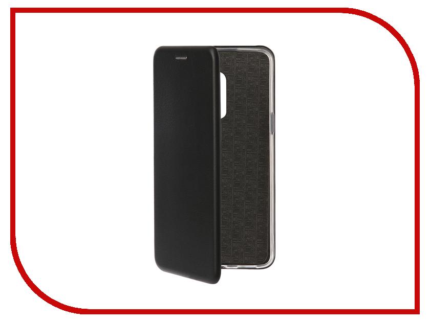 Аксессуар Чехол-книга для Meizu M15 Plus Innovation Book Silicone Black 12433 аксессуар чехол книга для meizu m15 plus innovation book silicone red 12432