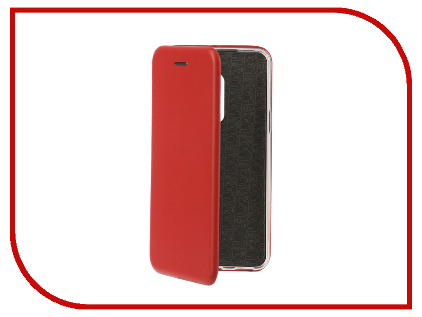 Аксессуар Чехол-книга для Meizu M15 / M15 Lite Innovation Book Silicone Red 12437 аксессуар чехол для meizu pro 7 note innovation book silicone red 12181