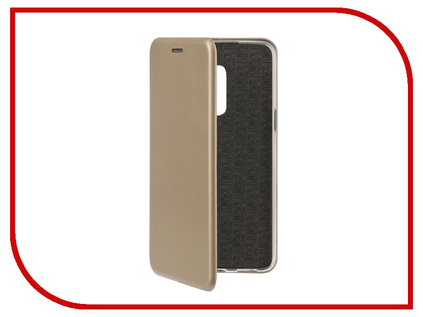 Аксессуар Чехол-книга для Meizu M15 Plus Innovation Book Silicone Gold 12430 подвесной светильник lussole loft 9 lsp 9371