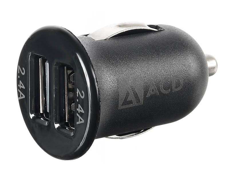 Зарядное устройство ACD ACD-C242-X1B 2xUSB