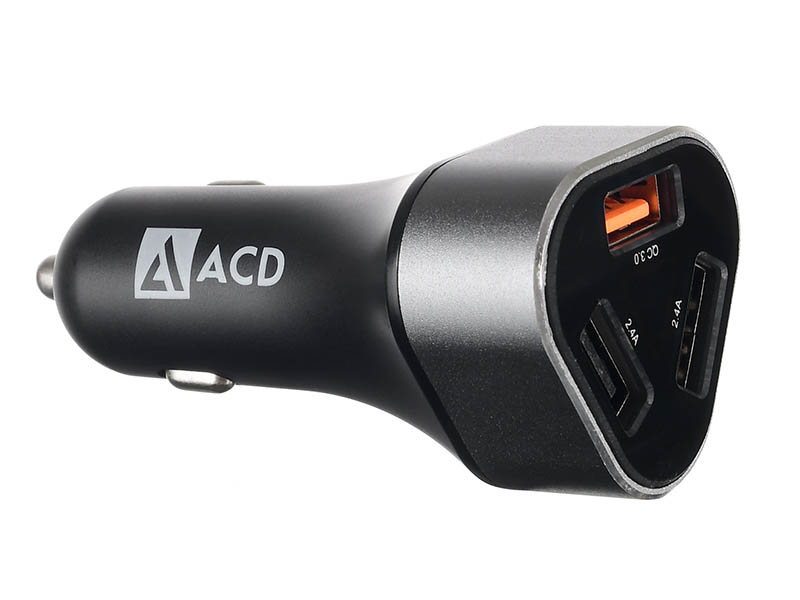 Зарядное устройство ACD ACD-C233-X3B 3xUSB