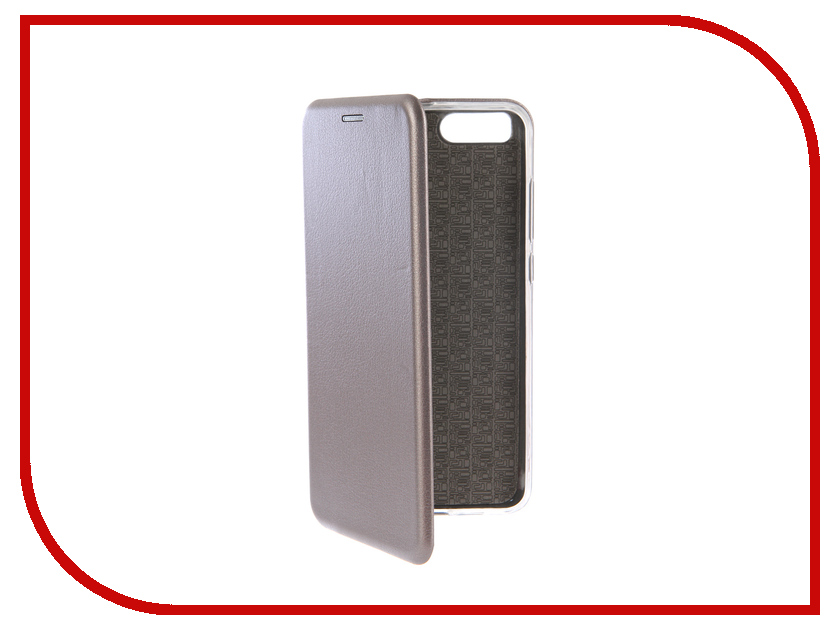 Аксессуар Чехол-книга для Xiaomi Mi Note 3 Innovation Book Silicone Silver 12464