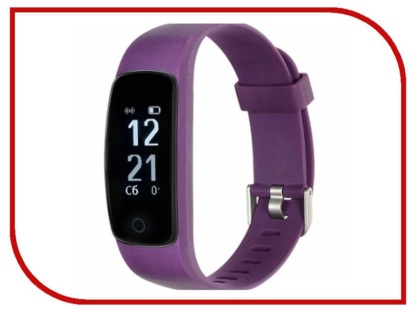 все цены на Умный браслет Lime 117HR Purple онлайн