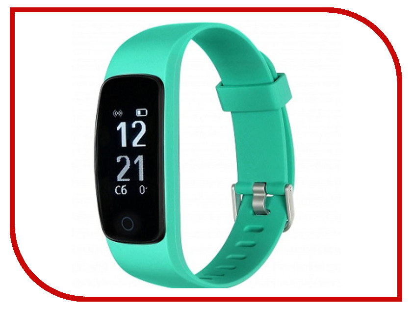 Умный браслет Lime 117HR Green yookie k318 bluetooth lime green