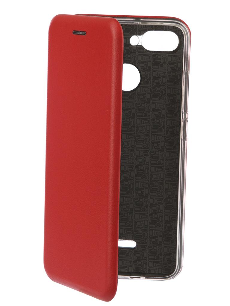 Фото - Аксессуар Чехол-книга Innovation для Xiaomi Redmi 6 Book Silicone Red 12467 аксессуар