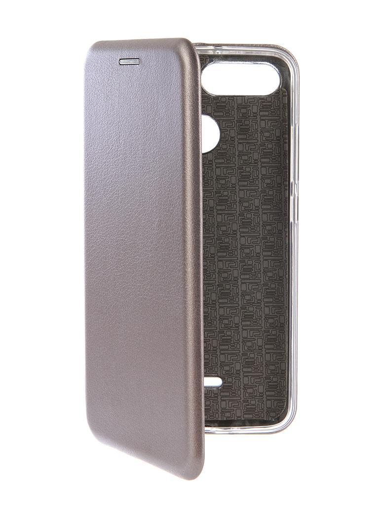 Аксессуар Чехол-книга Innovation для Xiaomi Redmi 6 Book Silicone Silver 12469