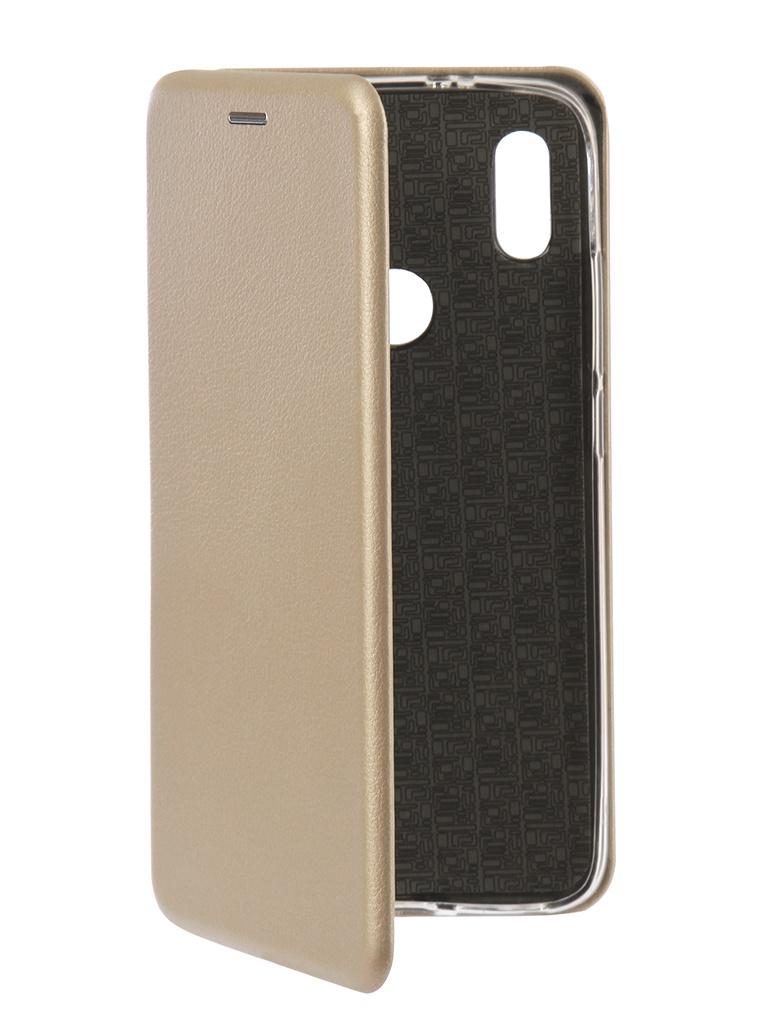 Аксессуар Чехол Innovation для Xiaomi Redmi S2 Book Silicone Gold 12470 аксессуар чехол для xiaomi redmi s2 innovation book silicone gold 12470