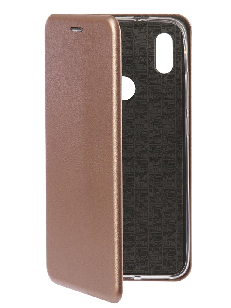 Аксессуар Чехол Innovation для Xiaomi Redmi S2 Book Silicone Rose Gold 12471 аксессуар чехол для xiaomi redmi s2 innovation book silicone gold 12470