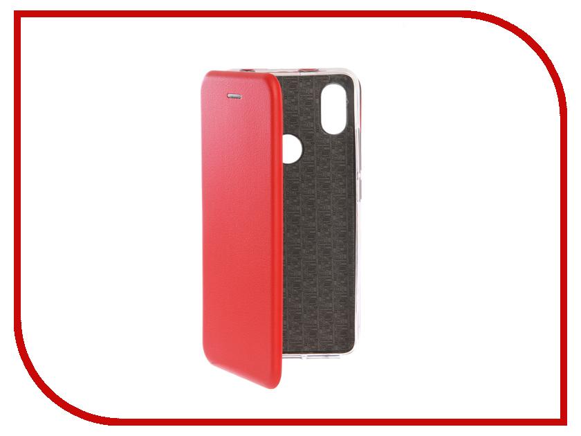 Аксессуар Чехол для Xiaomi Redmi S2 Innovation Book Silicone Red 12472 аксессуар чехол книга для xiaomi mi 8 book innovation book silicone red 12482