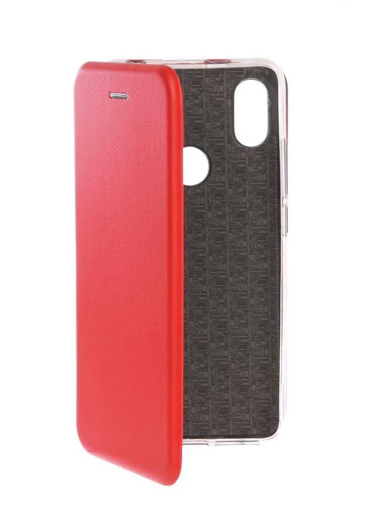 Аксессуар Чехол Innovation для Xiaomi Redmi S2 Book Silicone Red 12472 аксессуар чехол для xiaomi redmi s2 innovation book silicone gold 12470