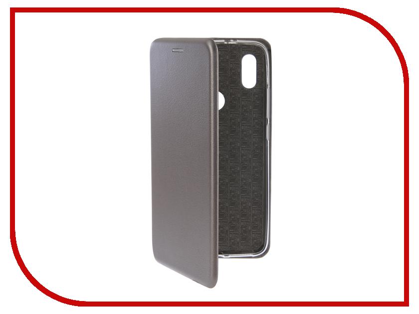 Аксессуар Чехол для Xiaomi Redmi S2 Innovation Book Silicone Silver аксессуар чехол книга для xiaomi mi 8 book innovation book silicone silver 12484