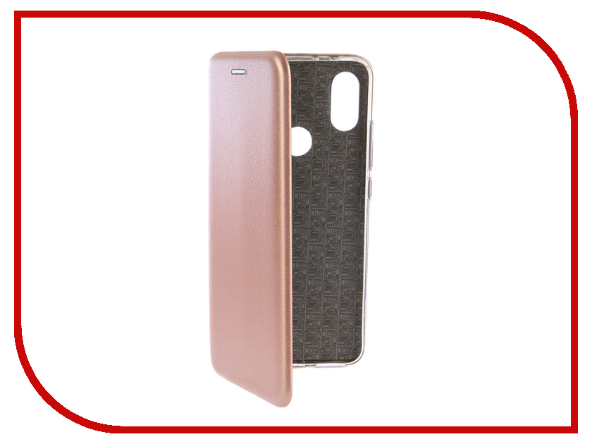 Аксессуар Чехол-книга для Xiaomi Mi A2 Innovation Book Silicone Rose Gold 12476 аксессуар чехол для xiaomi mi5x mi a1 innovation book silver 11952