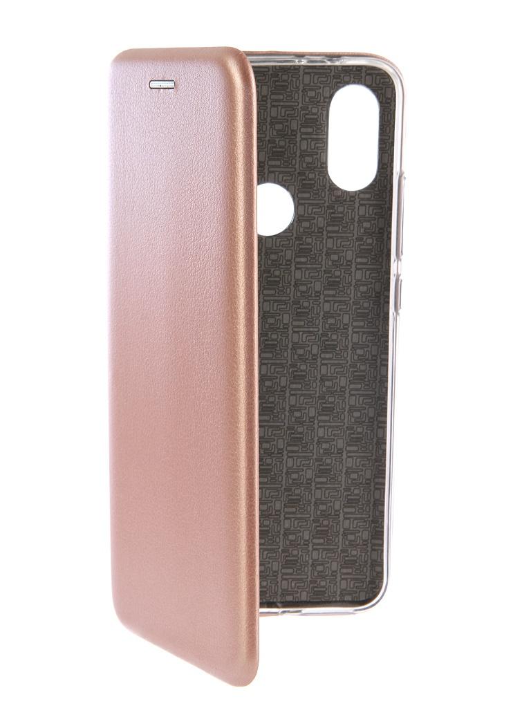 Аксессуар Чехол-книга Innovation для Xiaomi Mi A2 Book Silicone Rose Gold 12476