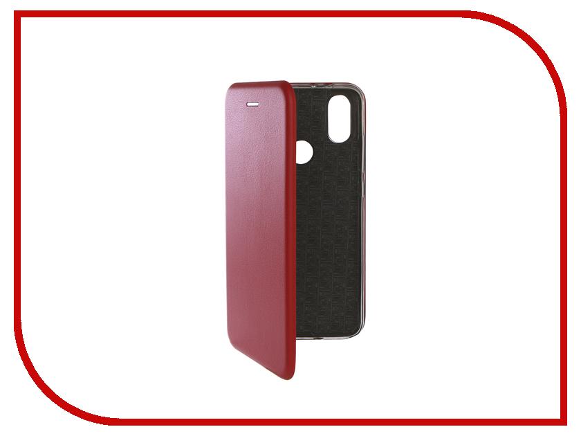 Аксессуар Чехол-книга для Xiaomi Mi A2 Innovation Book Silicone Red 12477 аксессуар чехол книга для xiaomi mi 8 book innovation book silicone red 12482