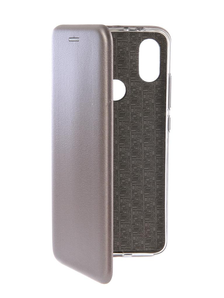 Аксессуар Чехол-книга Innovation для Xiaomi Mi A2 Book Silicone Silver 12479