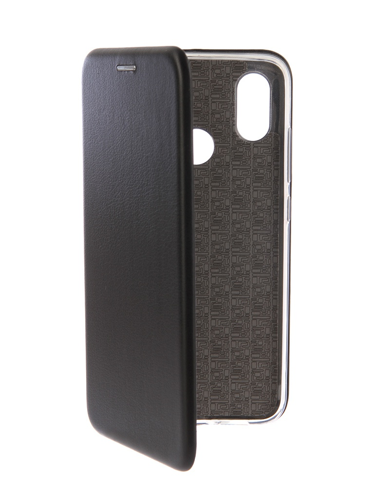 Аксессуар Чехол-книга Innovation для Xiaomi Mi 8 Book Silicone Black 12483